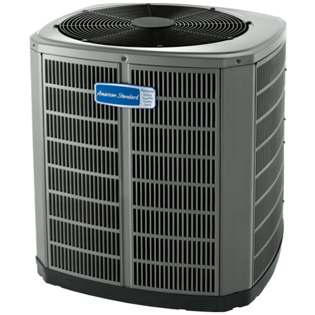 American Standard Variable Speed Platinum 20 Air Conditioner.