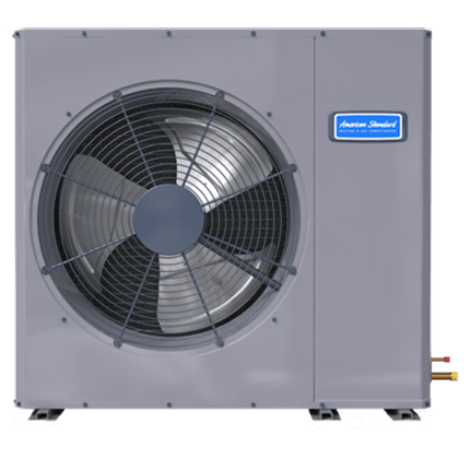 American Standard Silver 16 low profile heat pump.